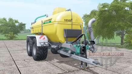 Zunhammer SKE 18.5 PUD para Farming Simulator 2017