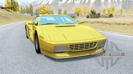 Ferrari 512 TR 1991 para BeamNG Drive