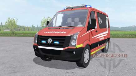 Volkswagen Crafter Van 2011 Feuerwehr v1.0 para Farming Simulator 2017