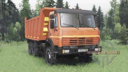 KamAZ 65111 2004 para Spin Tires