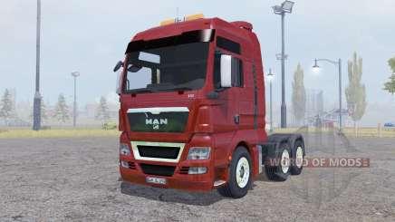 MAN TGX 6x6 para Farming Simulator 2013