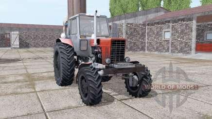 MTZ 82 Bielorrússia Turbo para Farming Simulator 2017