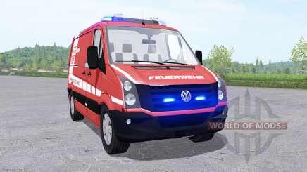 Volkswagen Crafter Van 2011 Feuerwehr v0.9 para Farming Simulator 2017