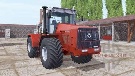 Kirovets K-744R3 moderadamente vermelho para Farming Simulator 2017