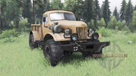 ZIL 157 4x4 Lenhador para Spin Tires