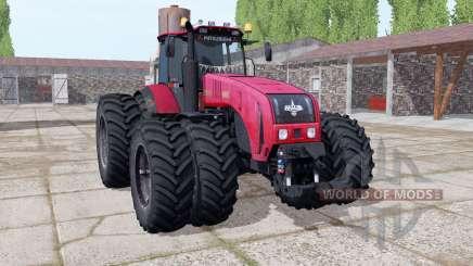 Bielorrússia 3522 escolha de rodas para Farming Simulator 2017
