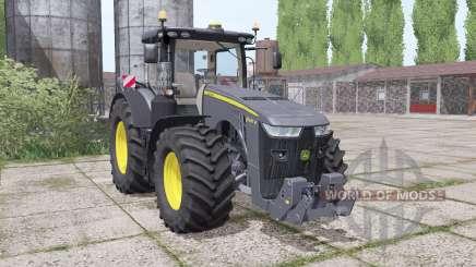 John Deere 8400R Black Edition para Farming Simulator 2017