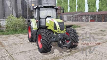 CLAAS Arion 630 interactive control para Farming Simulator 2017