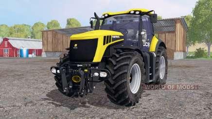 JCB Fastrac 8310 amarelo brilhante para Farming Simulator 2015