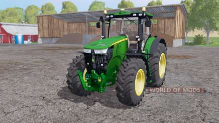 John Deere 7310R twin wheels para Farming Simulator 2015