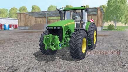 John Deere 8220 wheels weights para Farming Simulator 2015