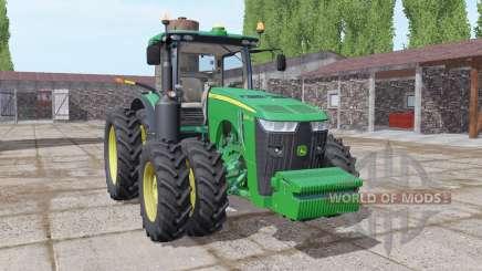 John Deere 8400R front weight para Farming Simulator 2017