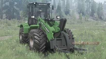 New Holland W170C green para MudRunner