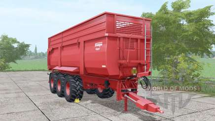 Krampe Big Body 900 more parts para Farming Simulator 2017