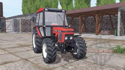 Zetor 5340 soft red para Farming Simulator 2017