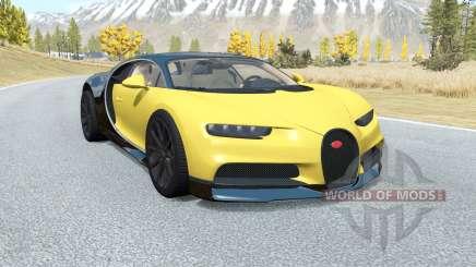 Bugatti Chiron 2016 para BeamNG Drive