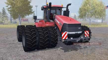 Case IH Steiger 600 triple wheels para Farming Simulator 2013