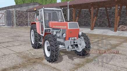 Zetor 12045 Crystal chains on wheels para Farming Simulator 2017