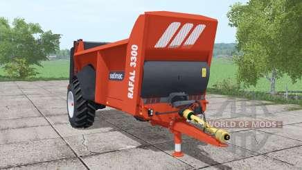 Sodimac Rafal 3300 para Farming Simulator 2017