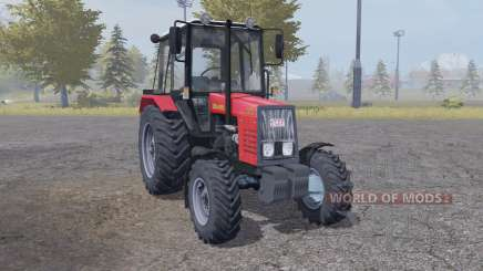 MTZ Bielorrússia 820 vermelho para Farming Simulator 2013