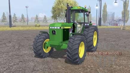 John Deere 4455 front loader para Farming Simulator 2013