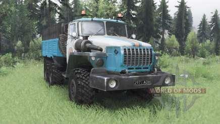 Ural 4320-10 ME para Spin Tires