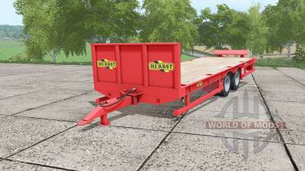 Herbst 24FT low loader v1.1 para Farming Simulator 2017