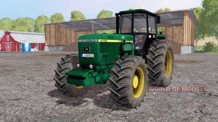 John Deere 4755 lime green para Farming Simulator 2015