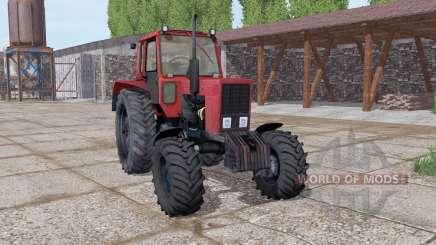MTZ 82 Bielorrússia soft-vermelho para Farming Simulator 2017