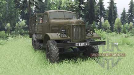 ZIL 157К 1962 para Spin Tires