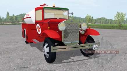 Ford Model AA 1930 Fuel Tanker para Farming Simulator 2017