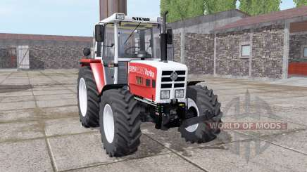 Steyr 8080A Turbo SK2 soft red para Farming Simulator 2017