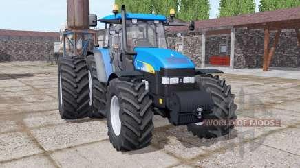 New Holland TM190 dual rear para Farming Simulator 2017