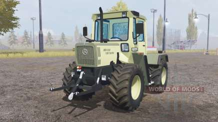 Mercedes-Benz Trac 700 Turbo light yellow para Farming Simulator 2013