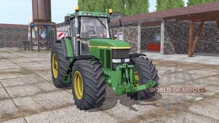John Deere 7810 green para Farming Simulator 2017