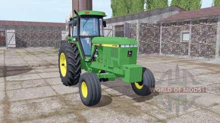 John Deere 4760 green para Farming Simulator 2017