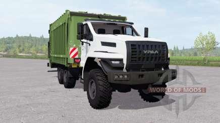 Ural Próximo (4320-6952-72) caminhão de lixo para Farming Simulator 2017