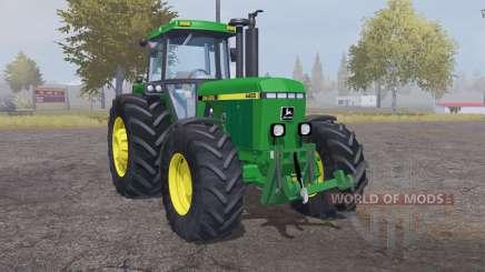 John Deere 4455 moderate lime green para Farming Simulator 2013