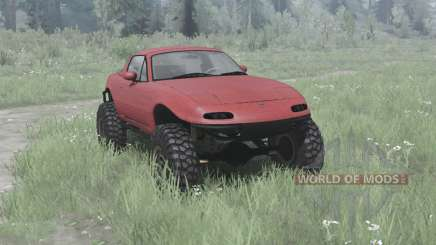 Mazda MX-5 off-road para MudRunner