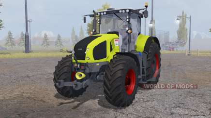 CLAAS Axion 950 bright yellow para Farming Simulator 2013