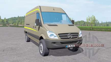Mercedes-Benz Sprinter LWB High Roof Van 2006 para Farming Simulator 2017