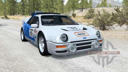 Ford RS200 Evolution Group B rally car 1986 para BeamNG Drive