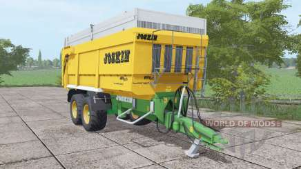 JOSKIN Trans-Space 7000-27 yellow para Farming Simulator 2017