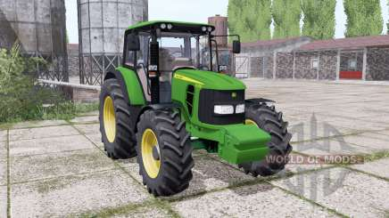 John Deere 6330 dual rear para Farming Simulator 2017