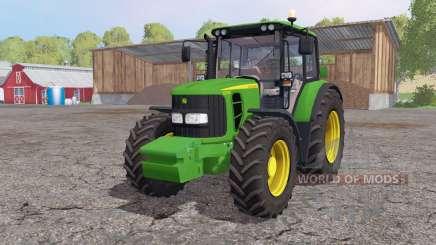 John Deere 6330 interactive control para Farming Simulator 2015