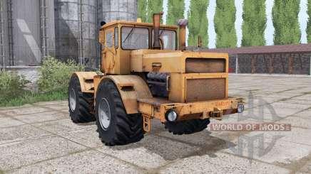 Kirovets K-700A laranja para Farming Simulator 2017
