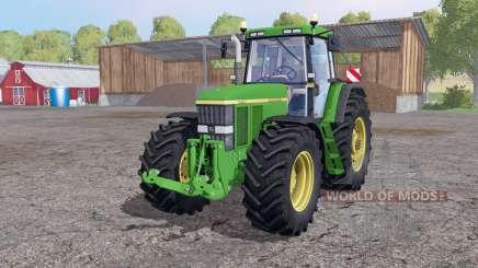 John Deere 7810 twin wheels para Farming Simulator 2015