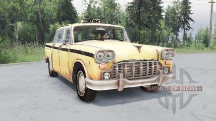 Checker Marathon Taxi (A11) 1970 para Spin Tires