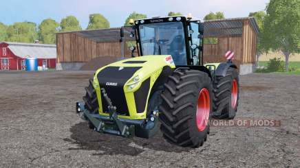 CLAAS Xerion 4500 twin wheels para Farming Simulator 2015