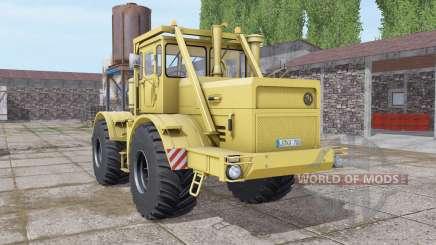 Kirovets K-700A soft-amarelo para Farming Simulator 2017